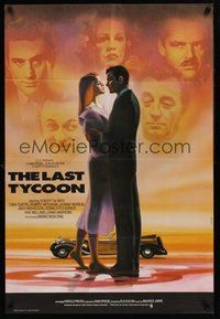 2p449 LAST TYCOON English 1sh '76 Robert De Niro, Jeanne Moreau, Landi artwork!