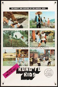 2p435 KUNG-FU KIDS 1sh '80 Lung Fei, Lau Lap Cho, wacky martial arts for children!