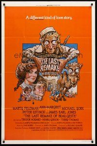 2p447 LAST REMAKE OF BEAU GESTE 1sh '77 art of Marty Feldman, Ann-Margret, Michael York by Struzan!