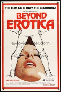 2p465 LOLA 1sh R79 Beyond Erotica, the climax is only the beginning!