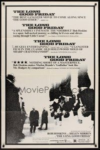 2p468 LONG GOOD FRIDAY 1sh '82 Helen Mirren, mobster Bob Hoskins crosses paths with the IRA!
