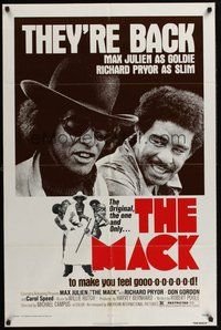 2p483 MACK 1sh R77 AIP, Max Julien & Richard Pryor are back to make you feel good!