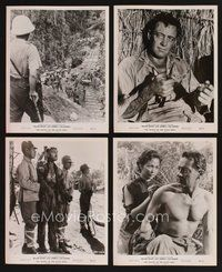 2r054 BRIDGE ON THE RIVER KWAI 17 8x10 stills '58 great images of William Holden & Alec Guinness!
