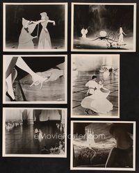 2r044 CINDERELLA 20 7.25x9.5 stills '50 Walt Disney classic romantic musical fantasy cartoon!