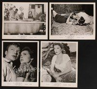 2r033 GOD'S LITTLE ACRE 25 8x10 stills '58 Buddy Hackett, Aldo Ray, sexy Tina Louise!