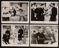 2r016 KISS THEM FOR ME 35 8x10 stills '57 Cary Grant & Suzy Parker, plus sexy Jayne Mansfield!