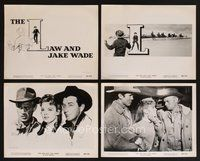 2r018 LAW & JAKE WADE 34 8x10 stills '58 Robert Taylor, Richard Widmark & Patricia Owens!