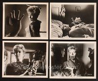2r074 NIGHTMARE 14 8x10 stills '64 Hammer horror, three murders, did she dream them or do them!