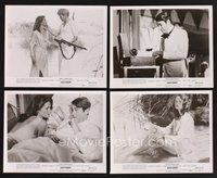 2r049 OTHER SIDE OF PARADISE 19 8x10 stills '77 Foxtrot, Peter O'Toole, sexy Charlotte Rampling!