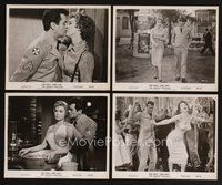 2r068 PERFECT FURLOUGH 15 8x10 stills '58 Tony Curtis in uniform with sexy Janet Leigh!