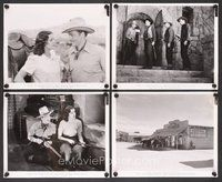2r046 TEXAS RANGERS RIDE AGAIN 20 8x10 stills '40 John Howard, Drew & Tamiroff in western action!