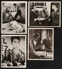 2r028 TRIAL 27 8x10 stills '55 lawyer Glenn Ford, Dorothy McGiure, racial prejudice!