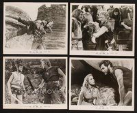 2r051 VIKINGS 19 8x10 stills '58 great images of Kirk Douglas, Tony Curtis & sexy Janet Leigh!