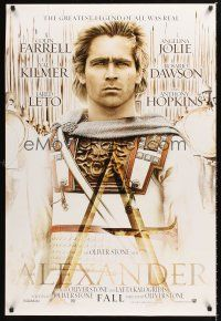 2y049 ALEXANDER teaser DS 1sh '04 directed by Oliver Stone, Colin Farrell in title role!