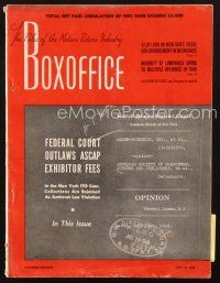3d080 BOX OFFICE exhibitor magazine July 24, 1948 Humphrey Bogart in Key Largo!