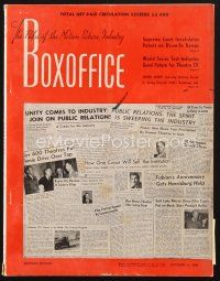 3d084 BOX OFFICE exhibitor magazine October 15, 1949 Alan Ladd, Montgomery Clift, Bob Hope