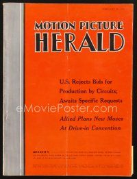 3d091 MOTION PICTURE HERALD exhibitor magazine February 18, 1956 Danny Kaye in The Court Jester!