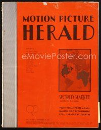 3d081 MOTION PICTURE HERALD exhibitor magazine November 13, 1948 Ingrid Bergman in Joan of Arc!