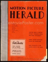 3d082 MOTION PICTURE HERALD exhibitor magazine Nov 20, 1948 color Hirschfeld ads for Paleface!