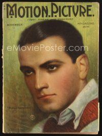 3d096 MOTION PICTURE magazine November 1922 artwork portrait of Richard Barthelmess by Roseland!