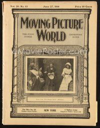 3d070 MOVING PICTURE WORLD exhibitor magazine June 27, 1914 Baum's The Patchwork Girl of Oz!