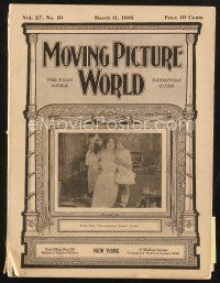 3d072 MOVING PICTURE WORLD exhibitor magazine March 11, 1916 Charlie Chaplin is now with Mutual!