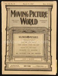 3d074 MOVING PICTURE WORLD exhibitor magazine March 17, 1917 Mary Pickford, Douglas Fairbanks