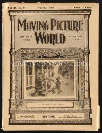3d073 MOVING PICTURE WORLD exhibitor magazine May 27, 1916 Mutual and Essanay Charlie Chaplin ads!