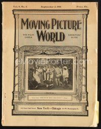 3d068 MOVING PICTURE WORLD exhibitor magazine September 2, 1911 Vitagraph, Lubin, Pathe, Edison!