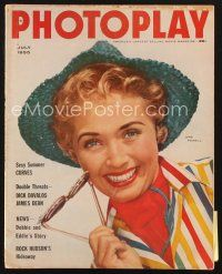 3d118 PHOTOPLAY magazine July 1955 great portrait of pretty Jane Powell by Ornitz!