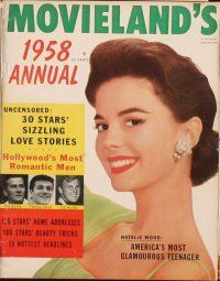 3d041 LOT OF 6 MOVIELAND MAGAZINES '60 Elizabeth Taylor, Natalie Wood, Debbie Reynolds & more!