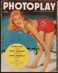 3d037 LOT OF 12 PHOTOPLAY MAGAZINES magazine'55 Liz Taylor, Doris Day, Kim Novak, Grace Kelly & more