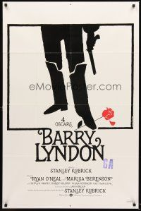 3e063 BARRY LYNDON int'l 1sh '75 Stanley Kubrick, Ryan O'Neal, historical romantic war melodrama!
