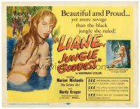 3h044 LIANE JUNGLE GODDESS TC '58 super sexy mostly naked 16 year-old blonde Marion Michaels!