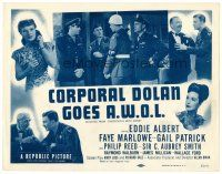 3h067 RENDEZVOUS WITH ANNIE TC R51 Eddie Albert, Faye Marlowe, Corporal Dolan Goes A.W.O.L.!