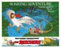3h068 RESCUERS TC '77 Disney mouse mystery adventure cartoon from the depths of Devil's Bayou!