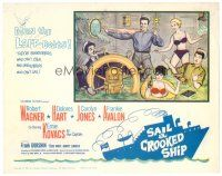 3h074 SAIL A CROOKED SHIP TC '61 Robert Wagner & Ernie Kovacks, completely different sexy art!