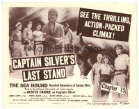 3h075 SEA HOUND chapter 15 TC '47 Buster Crabbe, the thrilling action-packed climax!