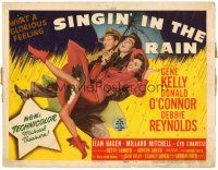 3h001 SINGIN' IN THE RAIN TC '52 Gene Kelly, Donald O'Connor, Debbie Reynolds, classic musical!