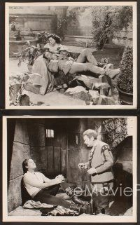 3j015 ADVENTURES OF DON JUAN 25 8x10 stills '49 Viveca Lindfors & Errol Flynn, breathless adventure!