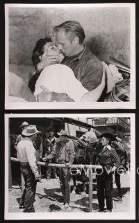 3j021 BACKLASH 23 8x10 stills '56 Richard Widmark, Donna Reed, directed by John Sturges!
