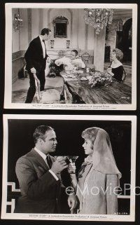 3j004 BEDTIME STORY 39 8x10 stills '64 Marlon Brando, David Niven & Shirley Jones!