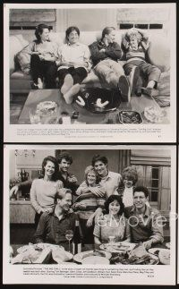 3j022 BIG CHILL 23 8x10 stills '83 Tom Berenger, Glenn Close, Jeff Goldblum, William Hurt!