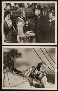 3j026 BILLY BUDD 21 8x10 stills '62 Terence Stamp, Robert Ryan, mutiny & high seas adventure!