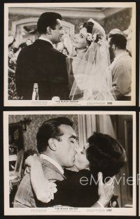 3j027 BLACK ORCHID 21 8x10 stills '59 Anthony Quinn, Sophia Loren, directed by Martin Ritt!