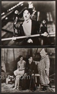 3j017 CIRCUS 25 8x10 stills R69 great images from Charlie Chaplin slapstick classic!