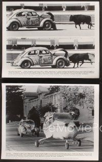 3j056 HERBIE GOES BANANAS 16 8x10 stills '80 wacky Volkswagen Beetle in Central America!