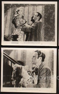 3j031 HOUSE BY THE RIVER 21 8x10 stills '50 Fritz Lang, Louis Hayward, Lee Bowman, Jane Wyatt