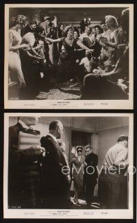 3j046 I WANT TO LIVE 17 8x10 stills '58 Susan Hayward as party girl Barbara Graham!