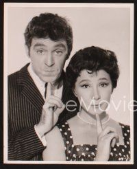 3j071 JAZZ BOAT 15 8x10 stills '60 Anthony Newley, Anne Aubrey, English beatniks!
